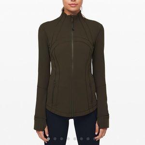 Lululemon Define Jacket in Olive Green